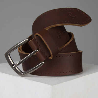 Carter Branded Tab Detail Belt