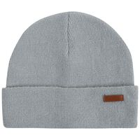 Helen Turn-up Beanie -  grey