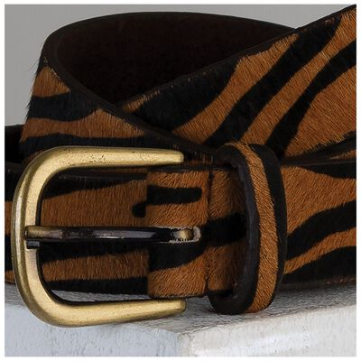 Mila Animal Print Belt
