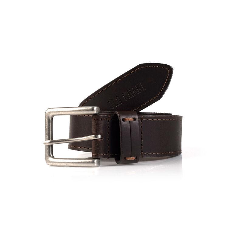 Aryan Leather Belt -  brown