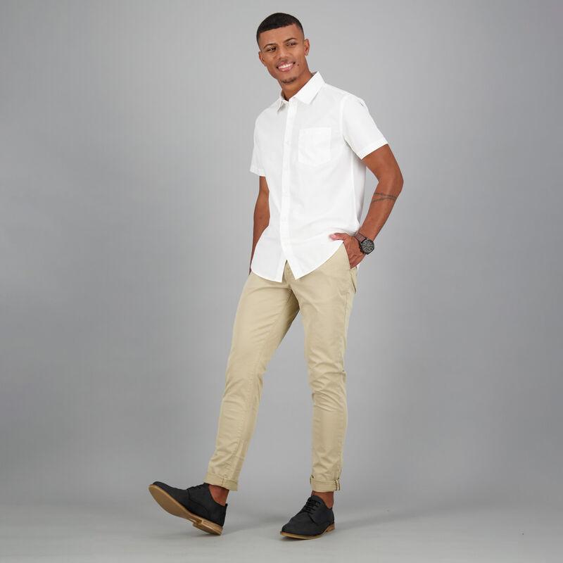 Men's Ali Slim Fit Shirt -  white