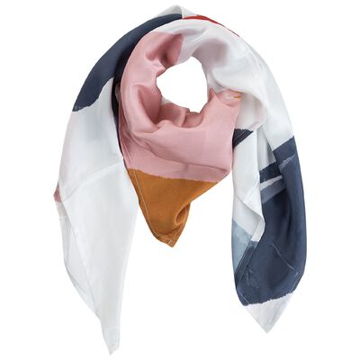 Rosabel Abstract Sateen Neckerchief