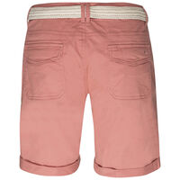 Callia Belted Shorts -  salmon