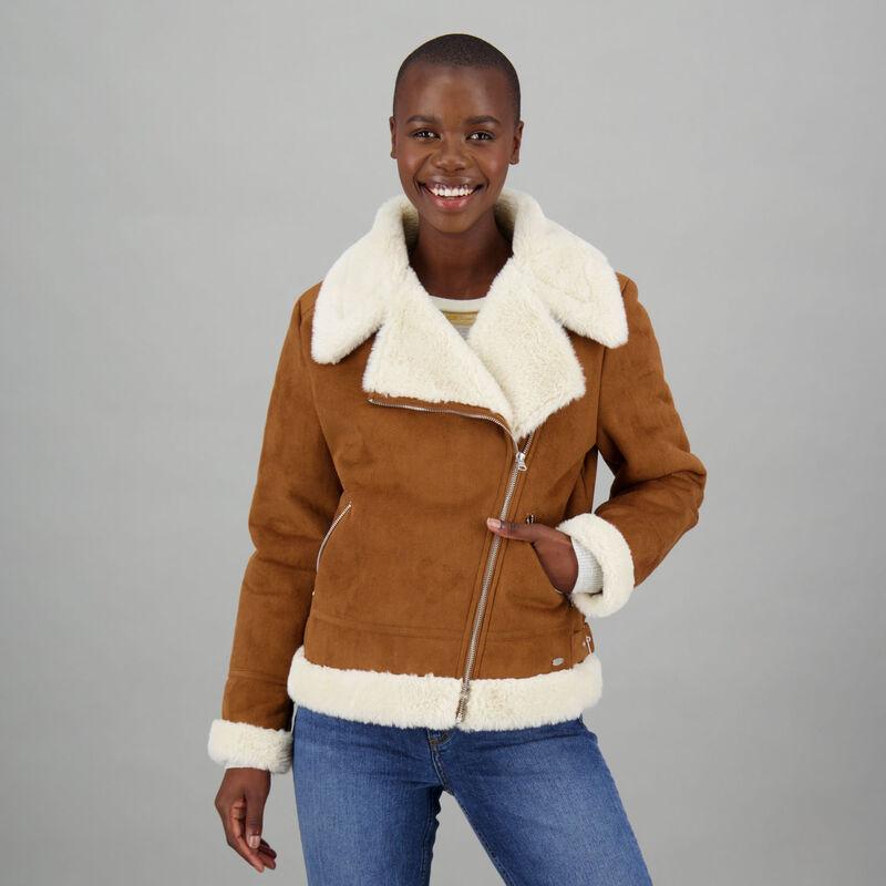 Women's Charley Shearling Jacket -  c22