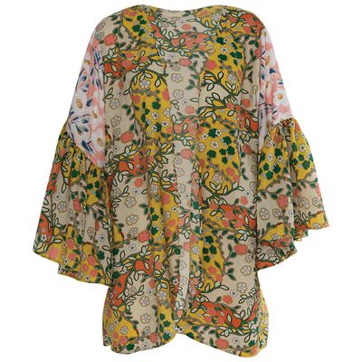 Gwenda Flutter Sleeve Kimono