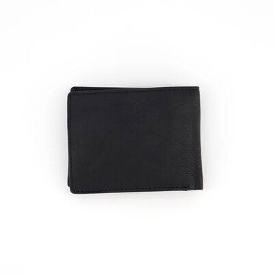 Dale Foldover Raw Leather Wallet