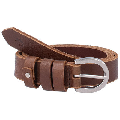 Maia Loop Trim Leather Belt
