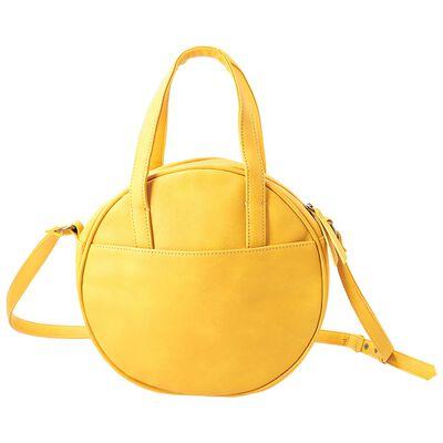 Carla Vegan Leather Saddle Bag