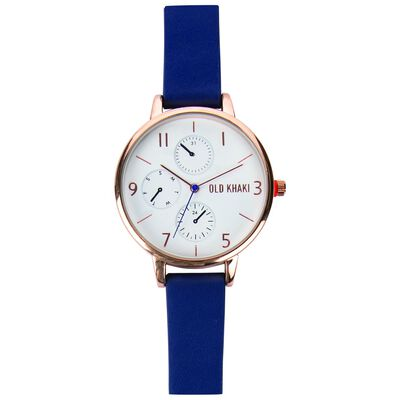 Kristina Medium Mock Chrono Watch