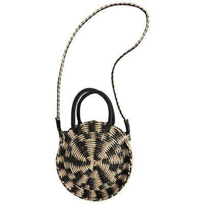 Ellen Straw Round Bag