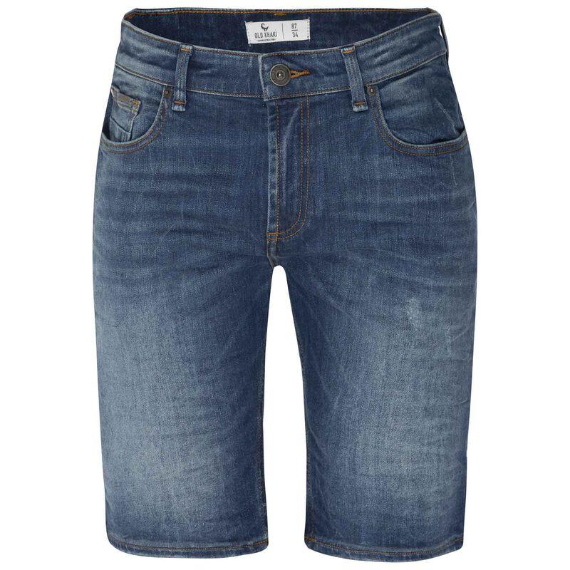 Siya Denim Shorts -  midblue