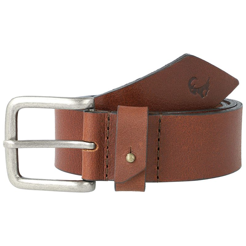 Gordon Men's Loop Detail Belt -  tan-tan