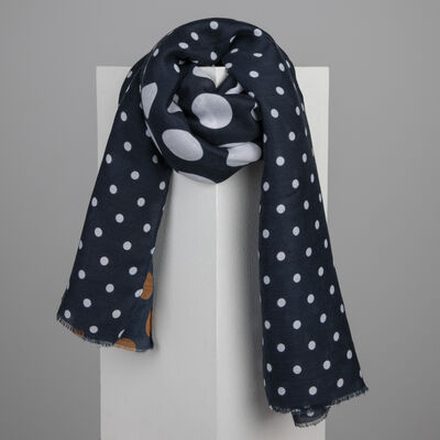 Benedetta Dotted Printed Scarf