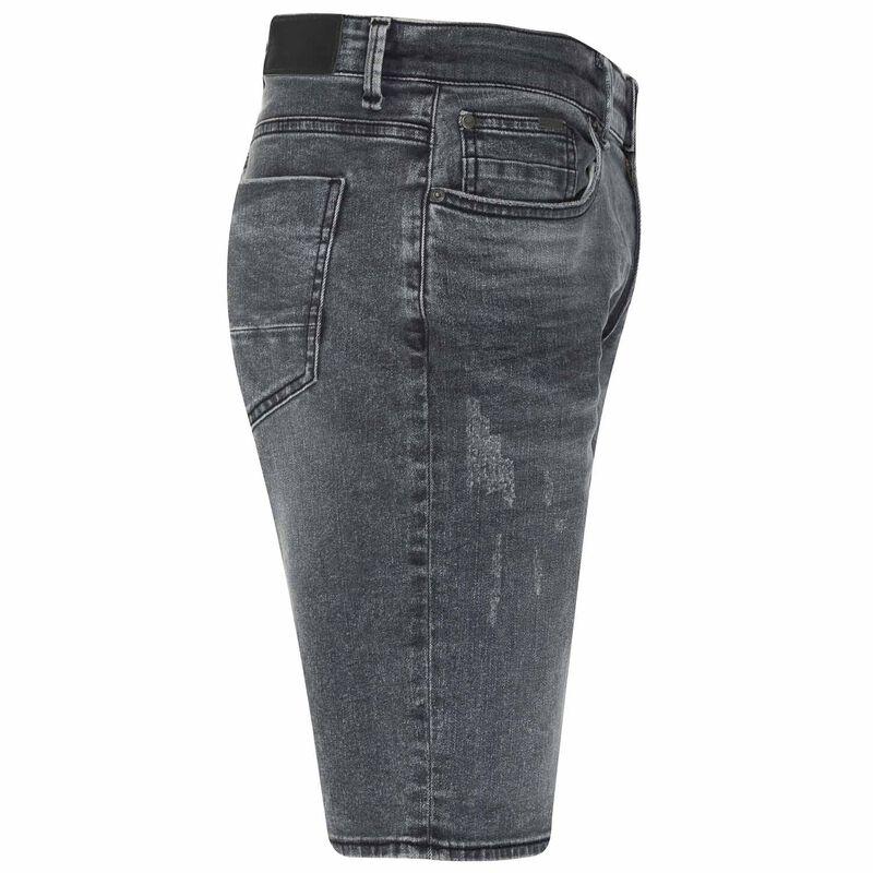 Tendai Denim Shorts -  grey
