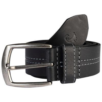 Beckham Contrast Centre Stitch Leather Belt
