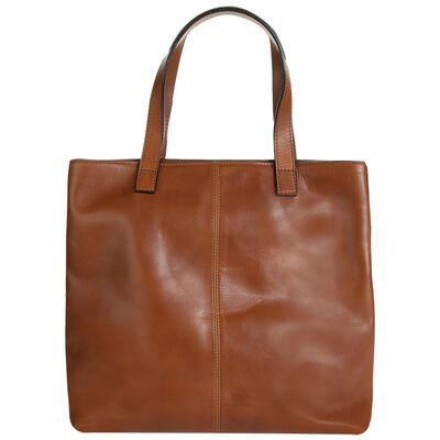 Old Khaki Giorgia Shopper Leather Bag