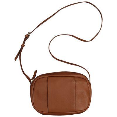 Kaiya Women's Leather Saddle Bag