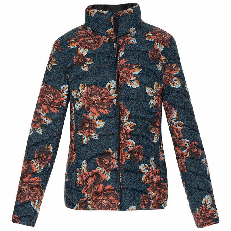 Christie Down Jacket -  blue-assorted