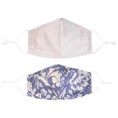 2-Pack Tropical Fabric Face Masks