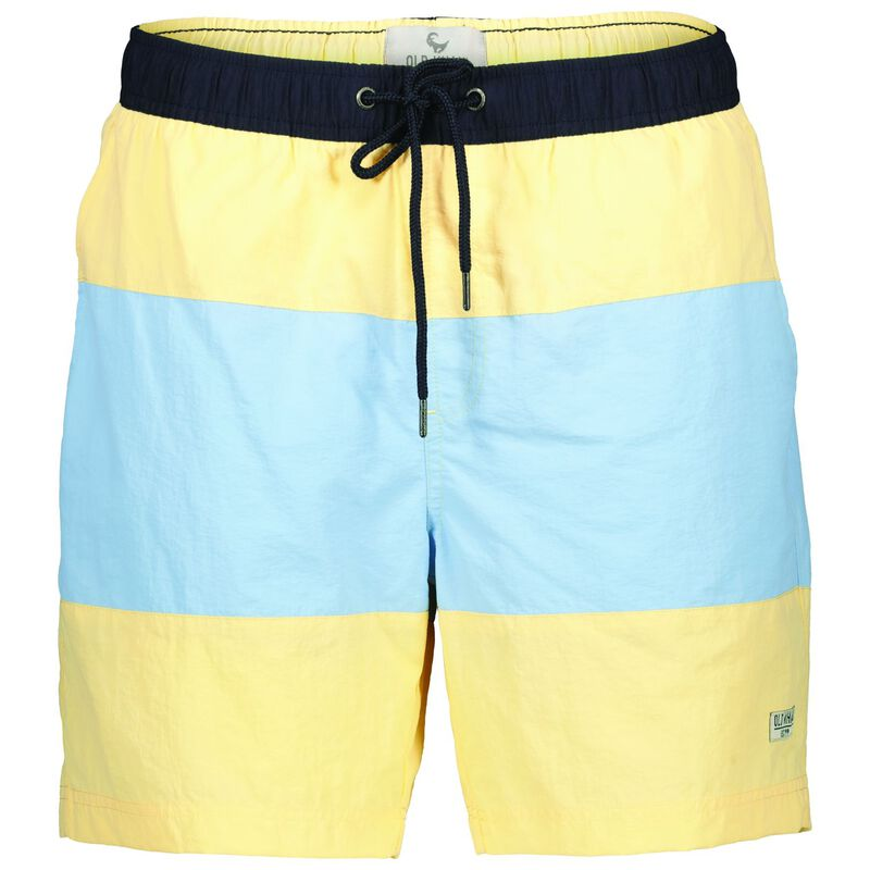 Marlon Men's Shorts -  yellow-blue
