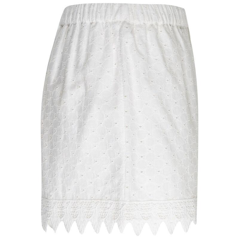 Mahra Lace Shorts -  milk