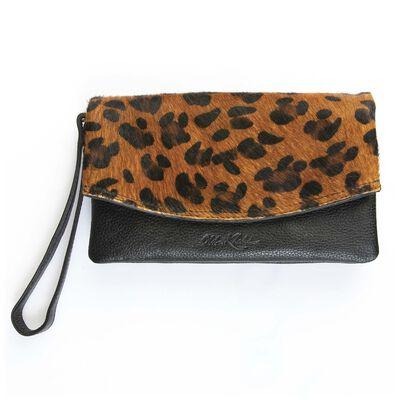 Amelie Leather Fold Over Bag