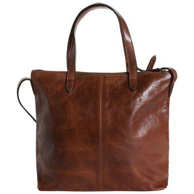 Old Khaki Elinor Shopper Leather Bag
