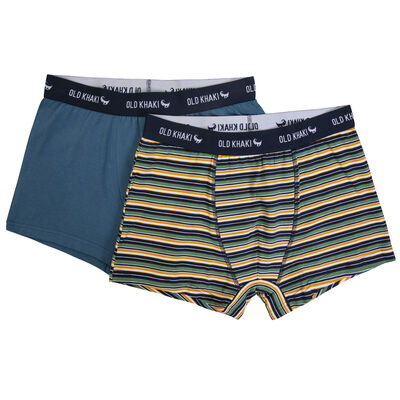 Two-Pack Striped Underwear