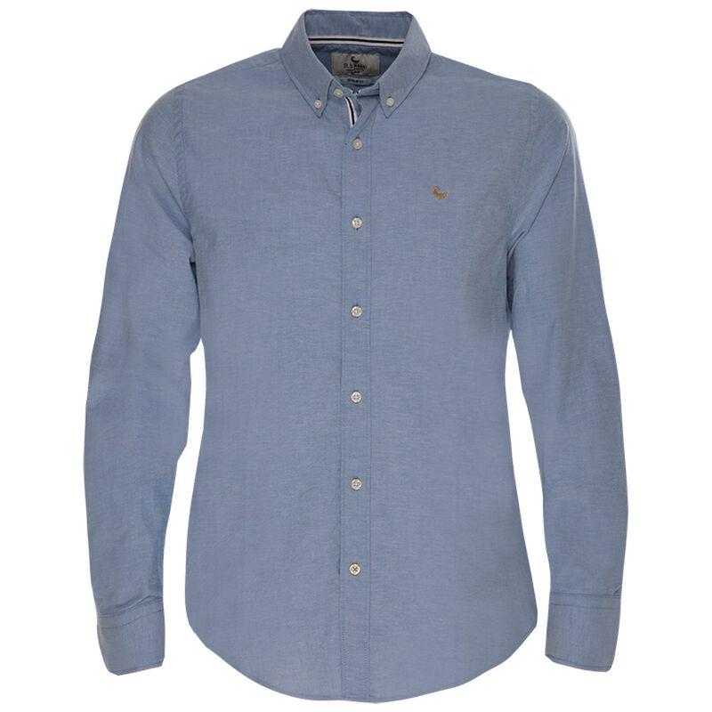 Hunter Slim Fit Shirt  -  blue