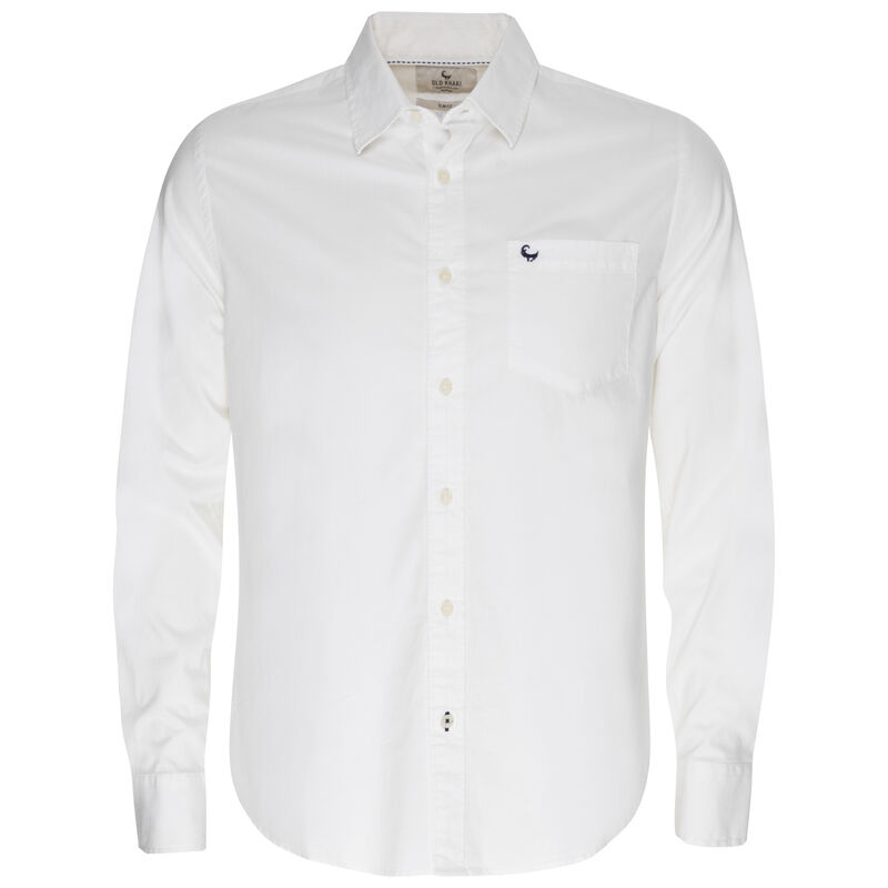 Andy Slim-Fit Shirt -  white