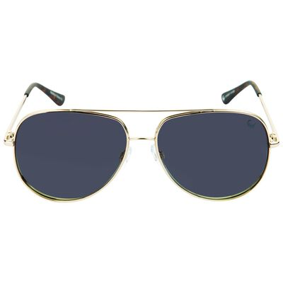 OK Polarised Oversized Aviator Sunglasses