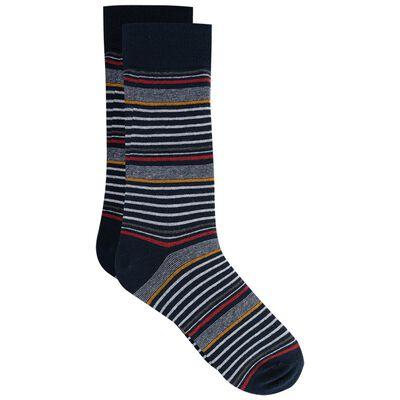 Nicol Men's Multi-Stripe Sock