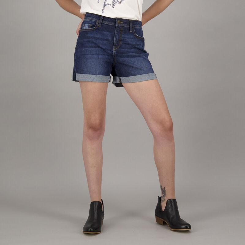 Women's Freedom Denim Shorts -  navy
