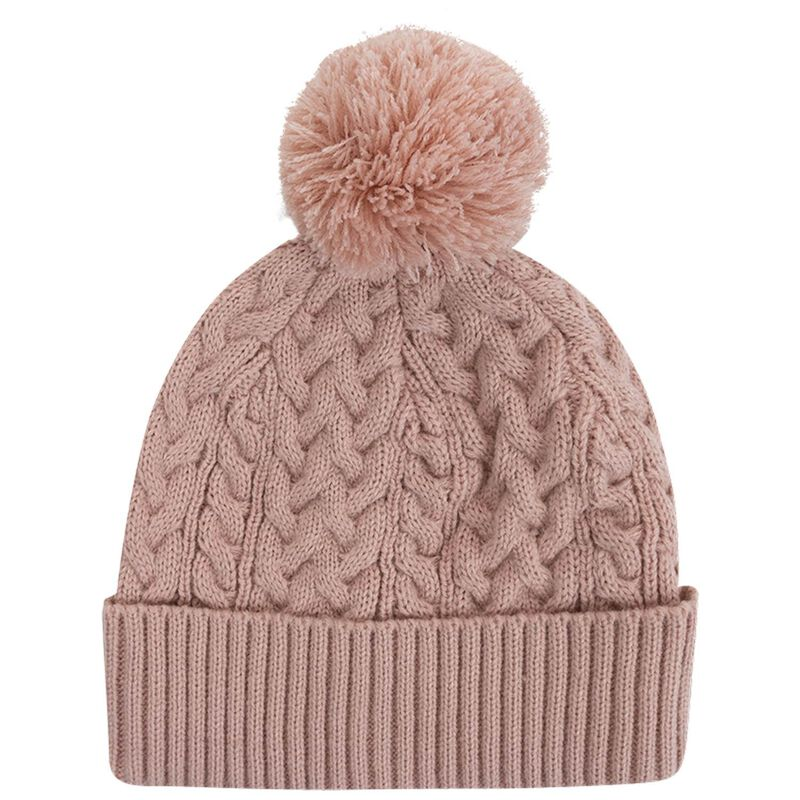 Amia Cable Beanie -  dustypink
