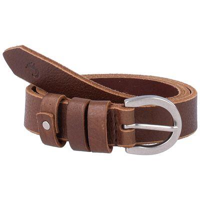 Maia Loop Trim Leather Belt