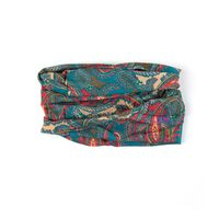 Paisley Multi-Scarf -  red-yellow
