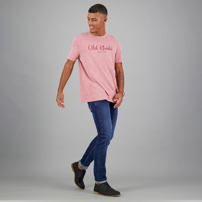 Men's Jaxxon Relaxed Fit T-Shirt -  pink