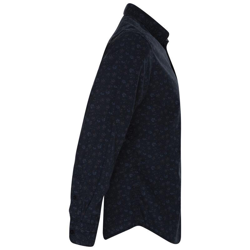 Woods Slim Fit Shirt -  navy