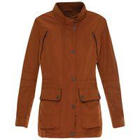 Florence Women's Parker Jacket  -  rust