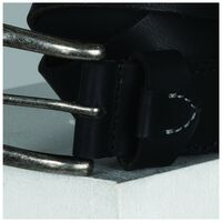 Declan Tab Detail Belt -  black