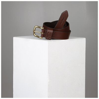 Evol Loop Stitch Detail Leather Belt