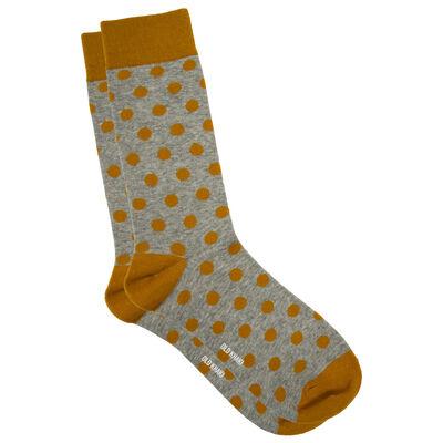 Clyde Medium Dot Sock