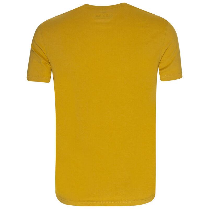 Eben T-Shirt -  mustard