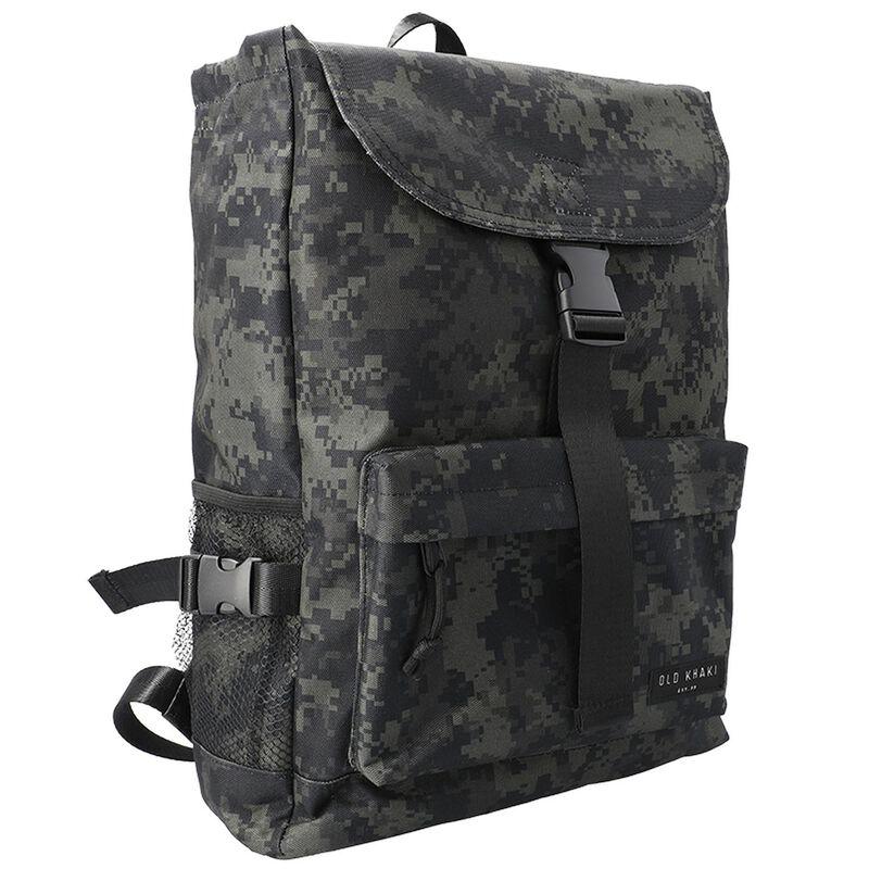 Joe Nylon Backpack -  black-black