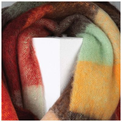 Old Khaki Silvia Warm-handle Scarf