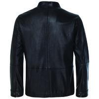 Royce Men's Leather Jacket  -  black