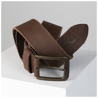 Old Khaki Men's Jayce Textured Leather Belt