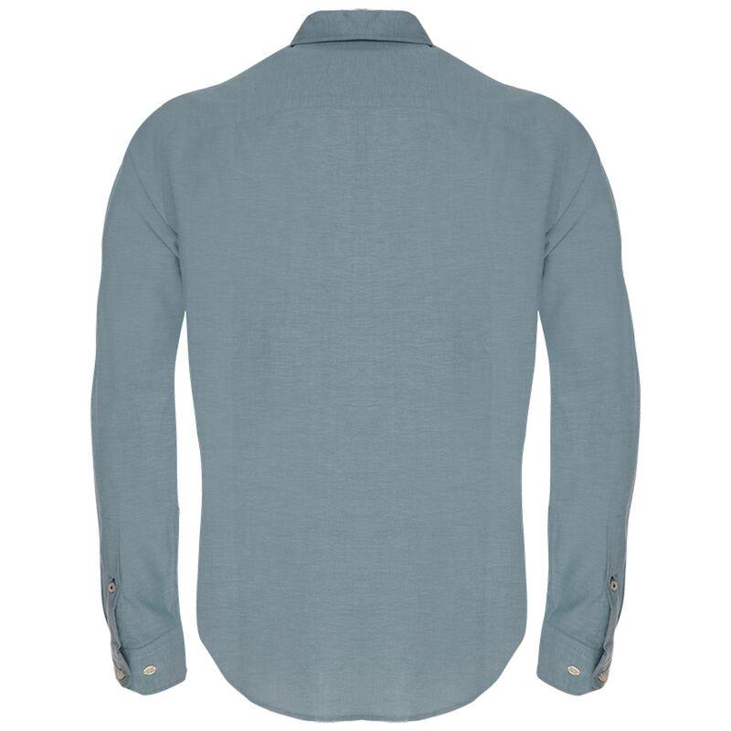 Hunter Slim Fit Shirt  -  teal