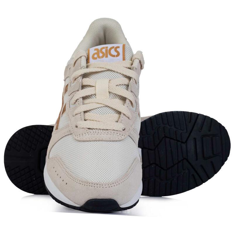 Asics Lyte Ladies Classic Sneaker  -  oatmeal-gold