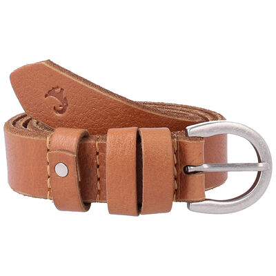 Old Khaki Women's Maia Loop Trim Leather Belt
